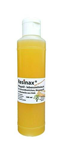 Resinax Pflegeöl für Schneidbretter aus Holz in Bester Bio-...
