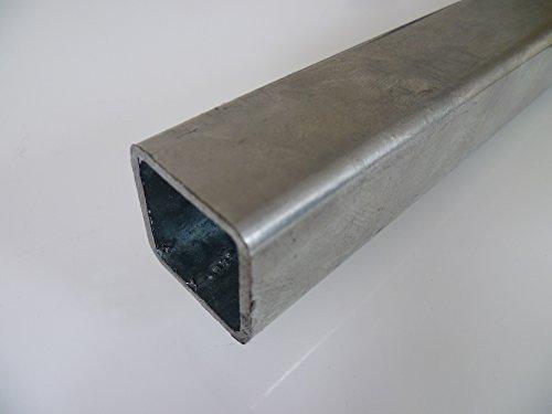 B&T Metall Stahl Vierkantrohr VERZINKT 30 x 30 x 2 mm in Längen à...