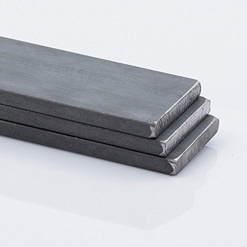 Stahl Flachstahl, Flacheisen 80 x 10 mm 500 mm lang