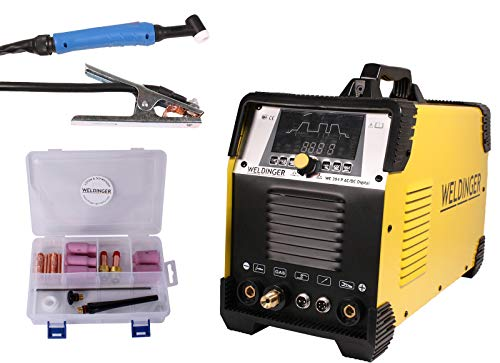 WELDINGER WE 204P ACDC digital HF Puls
