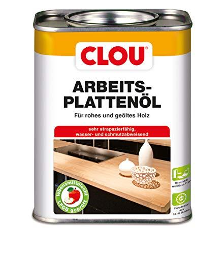Clou Arbeitsplatten-Öl für rohes und geöltes Holz, wasserabweisende...