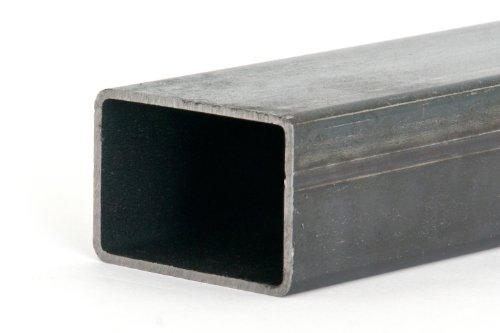 Rechteckrohr Stahlrohr Hohlprofil Vierkantrohr 1250mm Länge 40x25x2mm...