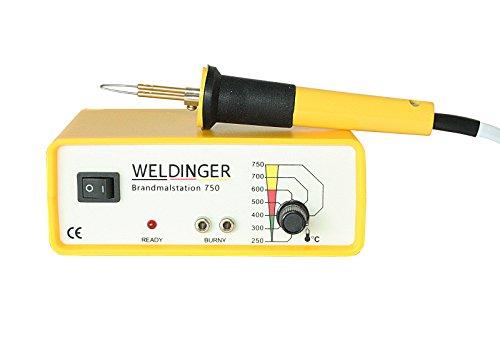 WELDINGER Brandmalstation BS 750 - regelbare Brennerstation -...