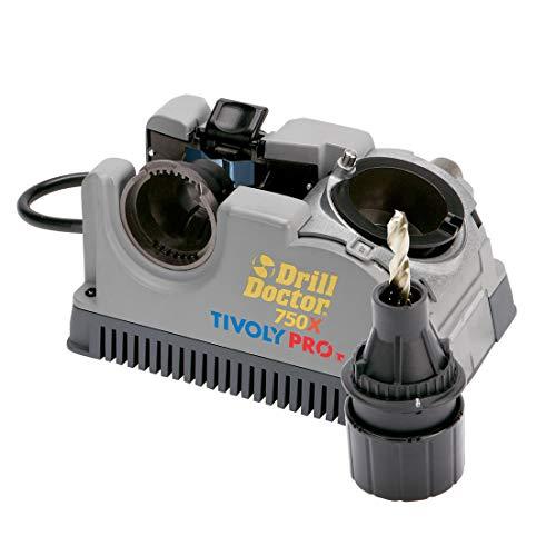 Tivoly Drill Doctor 750–Bohrerschärfgerät (2,5bis 19mm,...