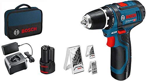 Bosch Professional 12V System Akkuschrauber GSR 12V-15 (inkl. 2x2,0...