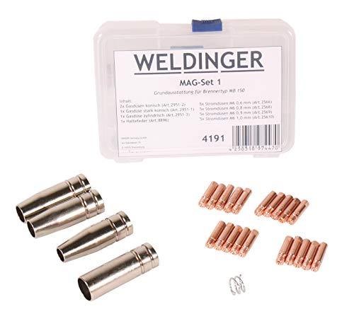 WELDINGER - Zubehörset MAGSet 1 für MAG Schweißgarnitur Typ MB150...