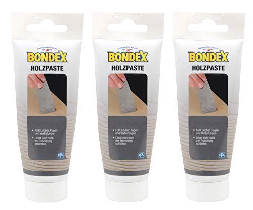Bondex Holzpaste Holzkitt Reparaturpaste zum ausbessern von Risse...