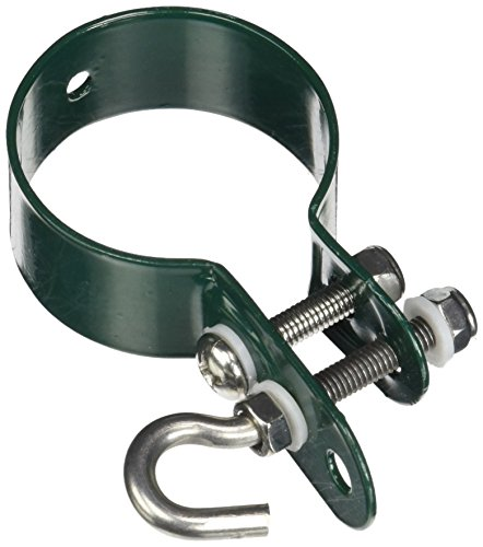 GAH-Alberts 655624 Schelle für Geflechtspannstäbe-verzinkt, grün,...