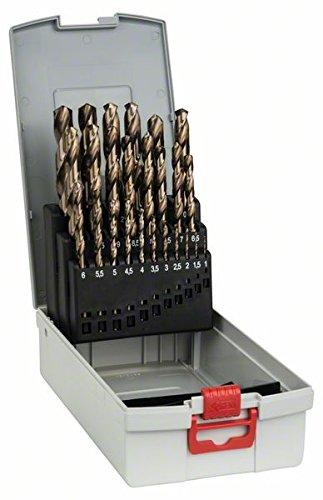 Bosch Professional 25tlg. Metallbohrer-Set HSS-Cobalt ProBox (für...