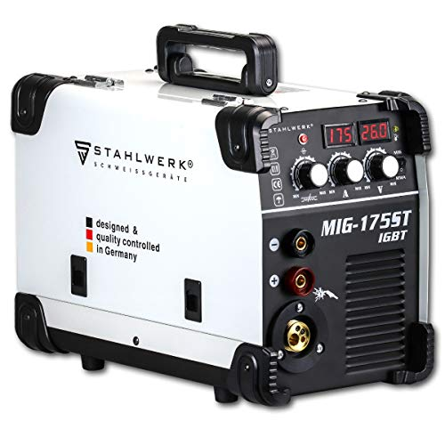 STAHLWERK MIG 175 ST IGBT - MIG MAG Schutzgas Schweißgerät mit 175...