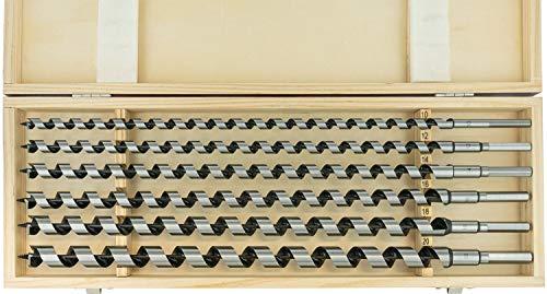 ENT 09190 6-tlg. Schlangenbohrer Set - Gesamtlänge 460 mm - Ø...
