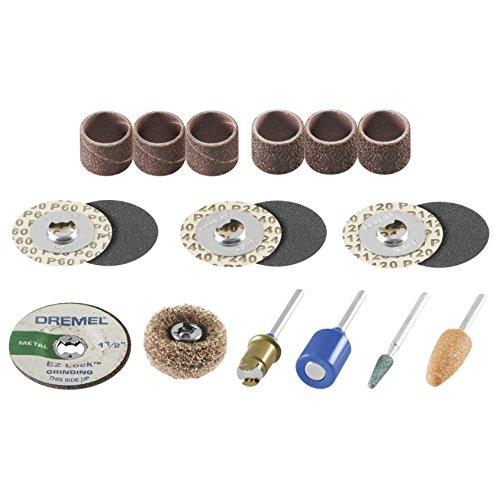 Dremel EZ686-01 EZ Lock Schleif- und Schleifwerkzeug-Zubehör-Set,...