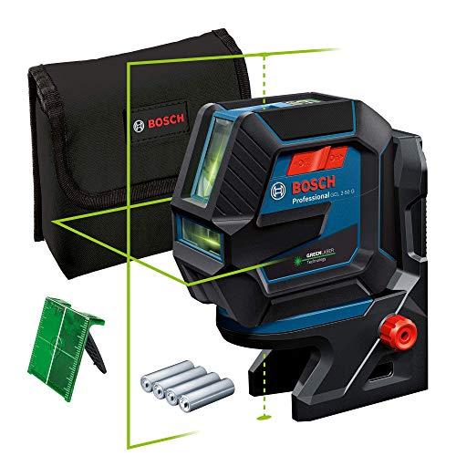 Bosch Professional Linienlaser GCL 2-50 G (grüner Laser, Halterung RM...