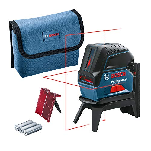 Bosch Professional 601066 Kreuzlinienlaser GCL 44242 (roter Laser,...