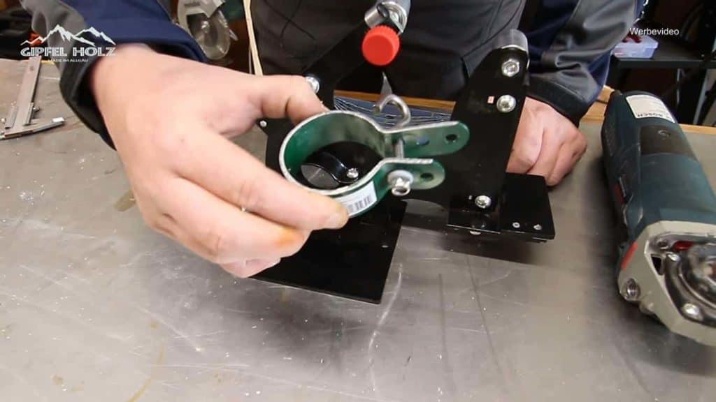 Bandschleifmaschine Test