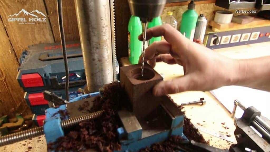 Pfeffermühle selber bauen