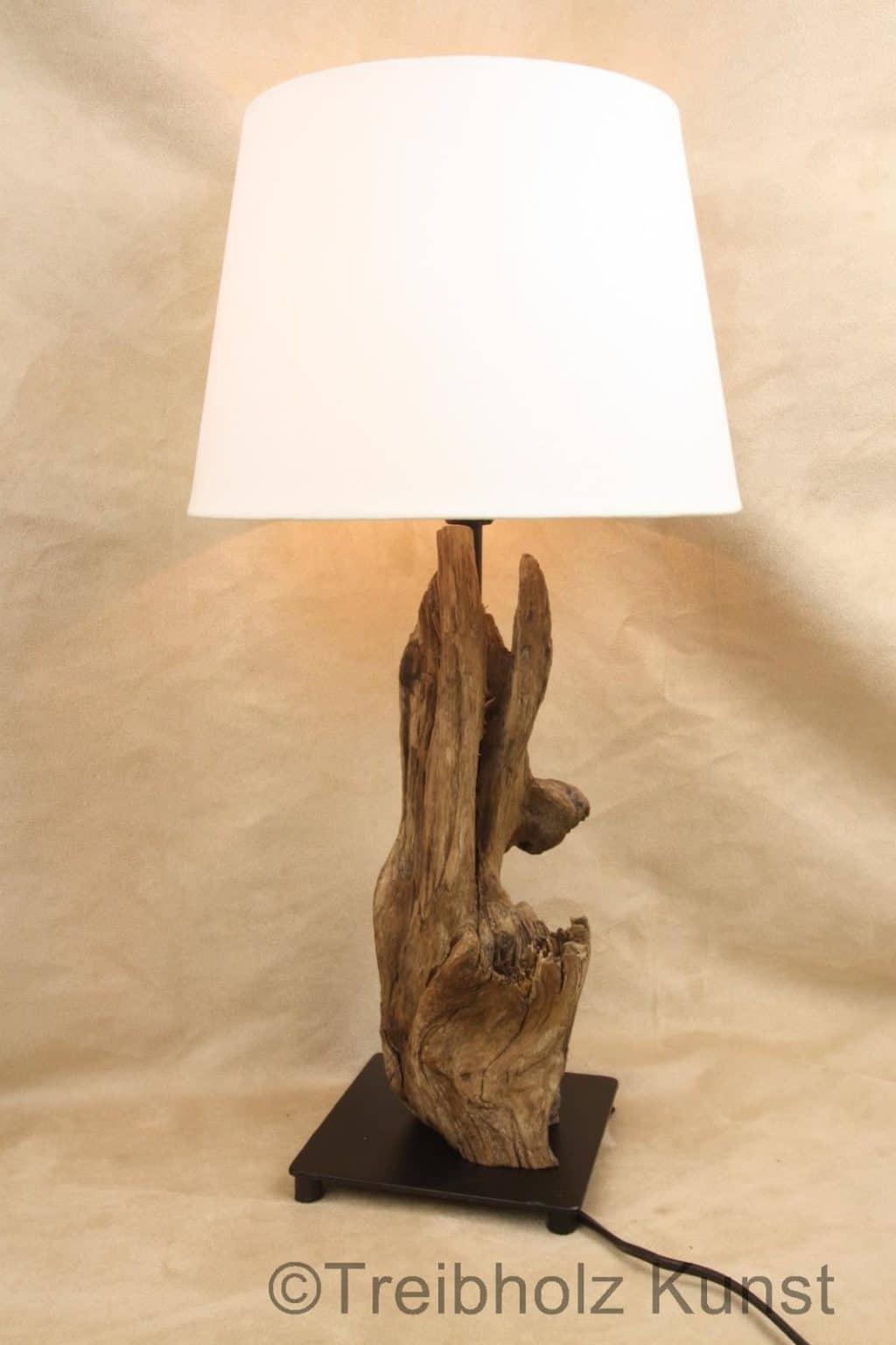 Einzigartige Treibholz-Lampen zum selber bauen - Woodstoneart