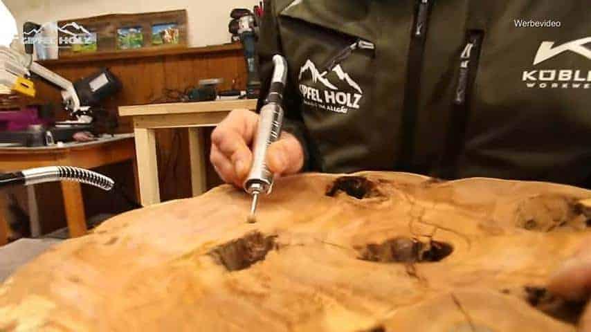 Gravierer Schleifmaschine