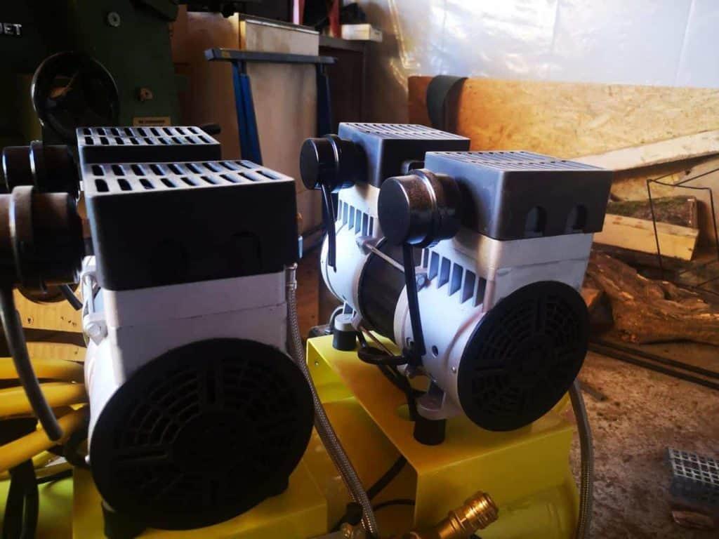 Kompressor für Werkstatt