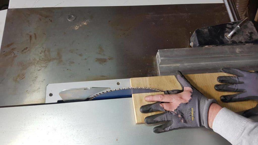 Handschuhe Tischkreissäge