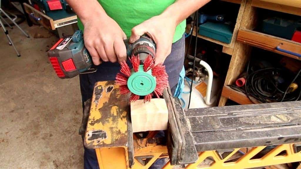 Holz bürsten Akkuschrauber