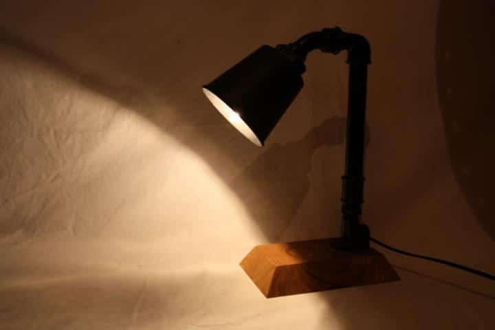 Steam Punk Lampe selber bauen