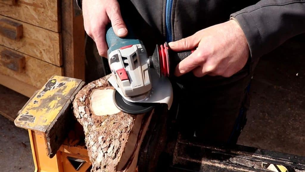 Arbortech Woodcarver Test