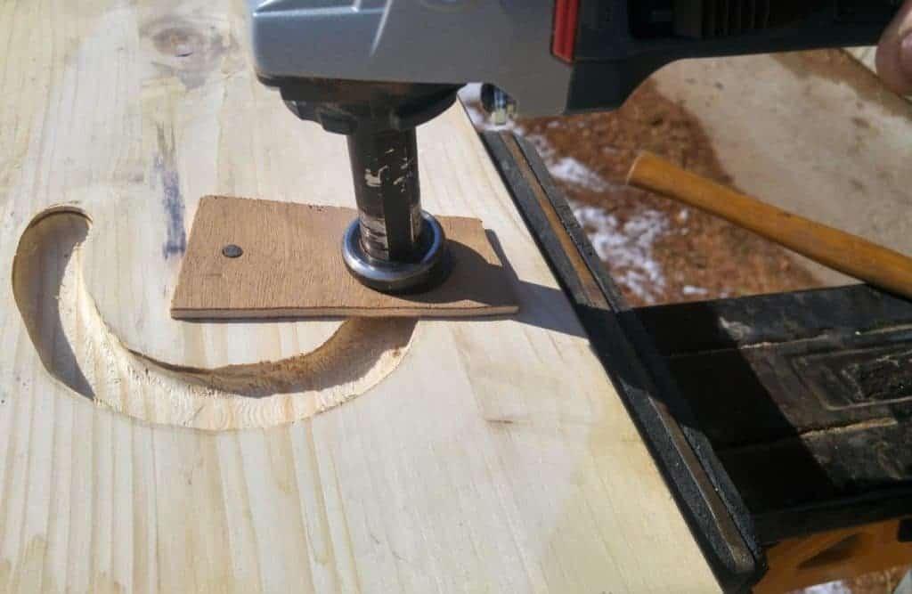 Holz flexen