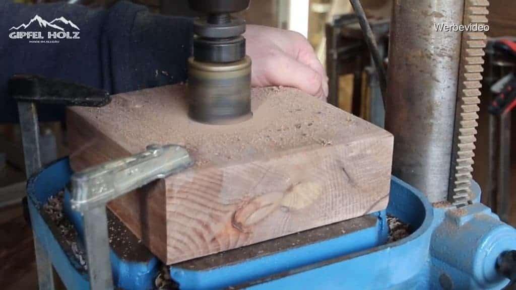 Holz bohren Lochsäge