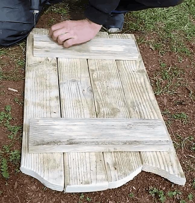 Regal aus Paletten bauen