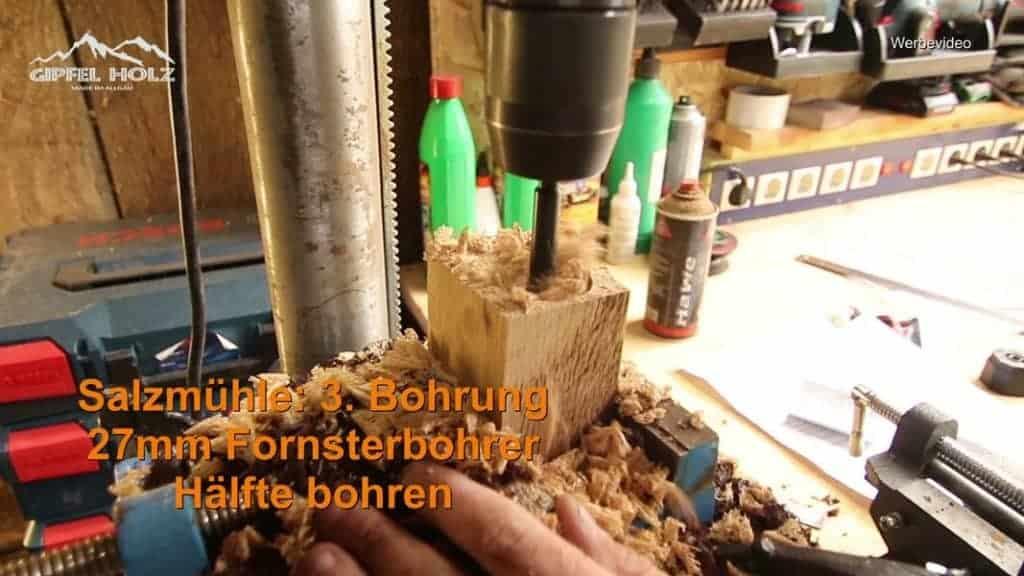 Bauanleitung Pfeffermühle