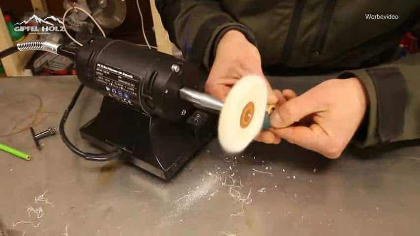 Poliermaschine für Schmuck