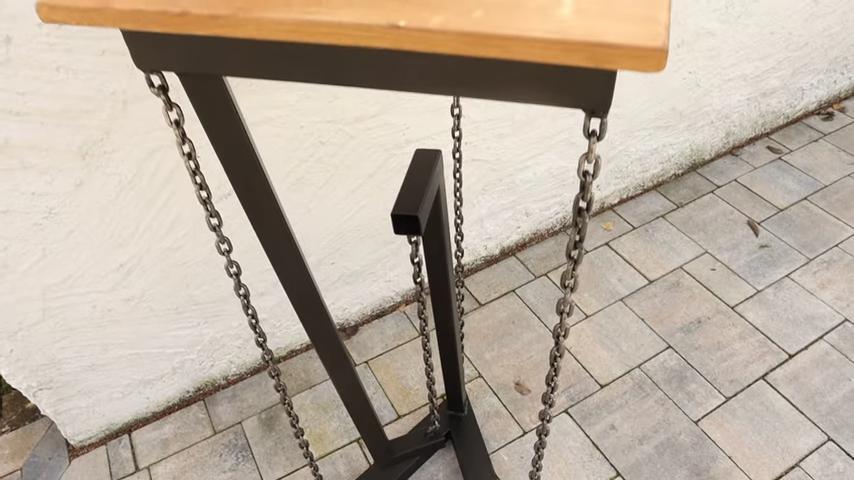 Tensegrity Tisch selber bauen