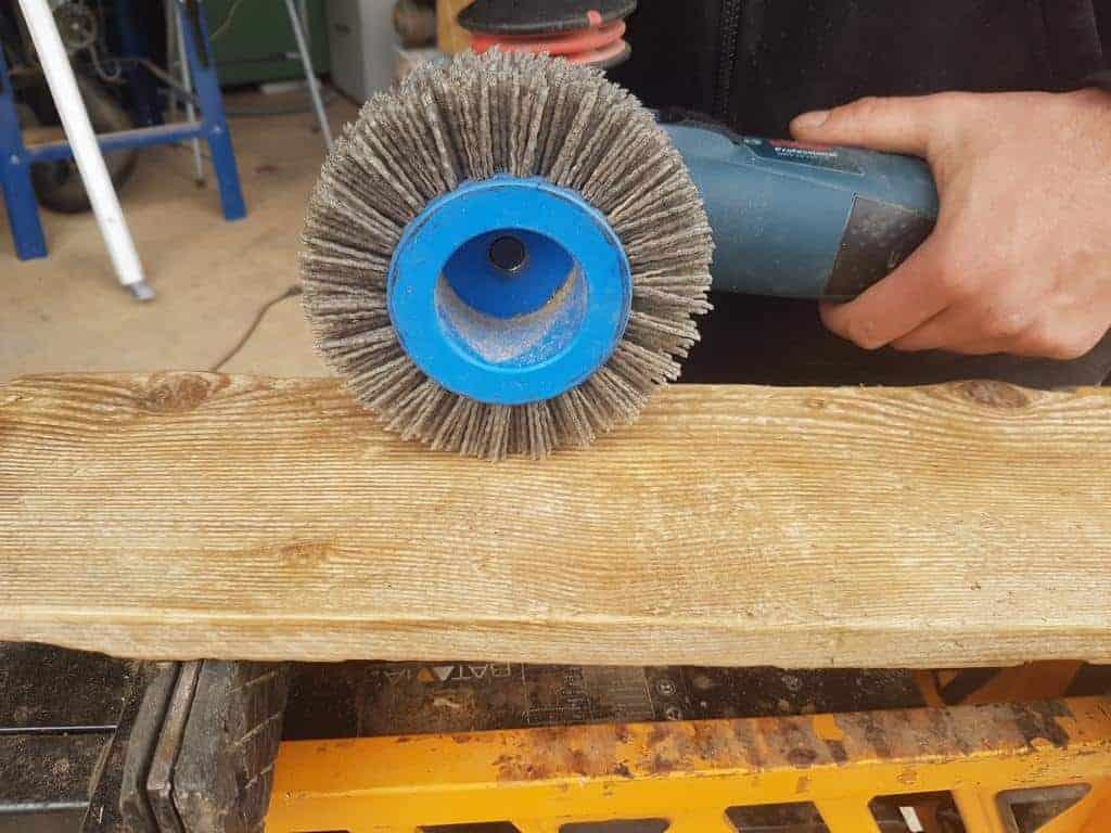 Holz bürsten Winkelschleifer