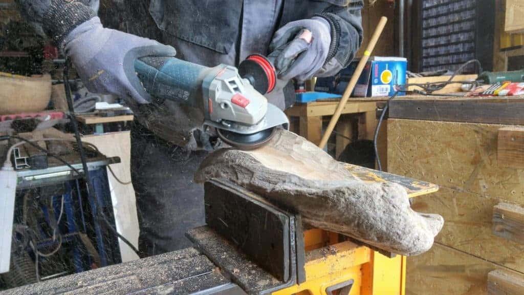 Holzschale mit Arbortech Turboplane herstellen