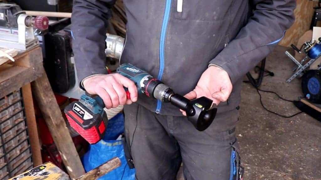 Werkzeug für Akkuschrauber Kunsthandwerk