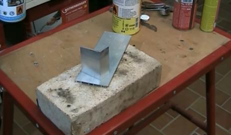 Aluminium löten Kapillarlot