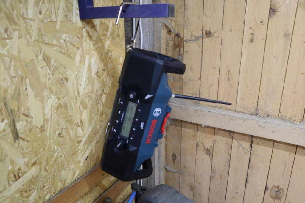 Radio aufhängen Bosch