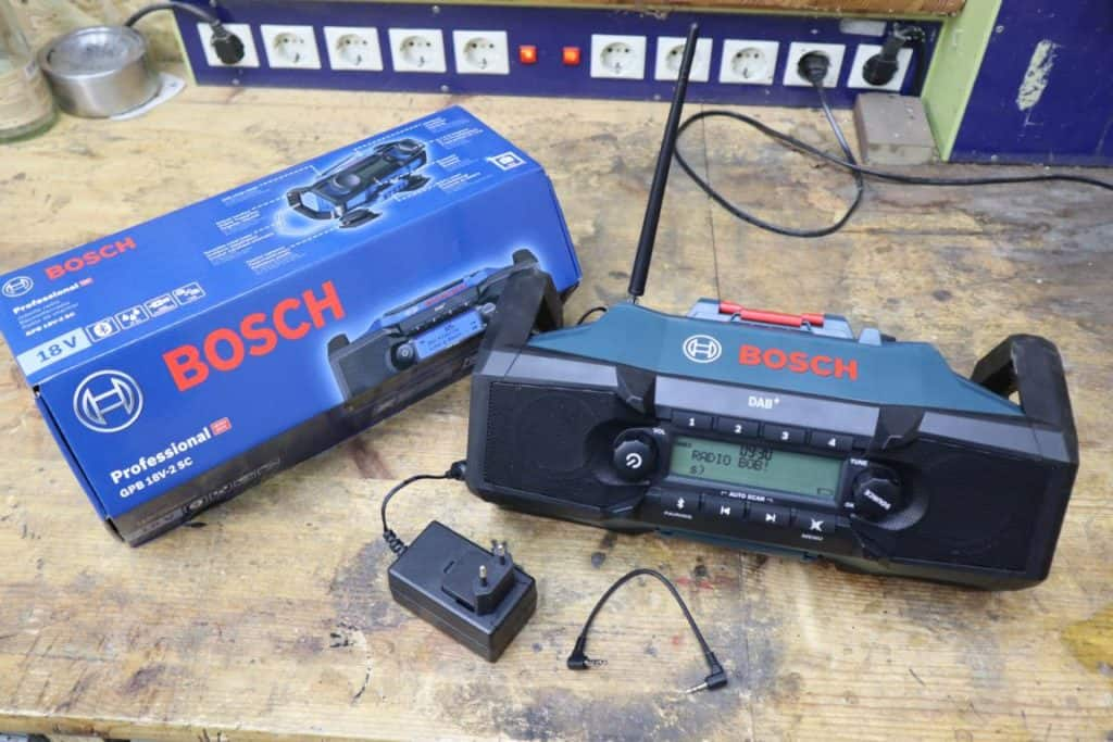 Bosch Radio mit DAB