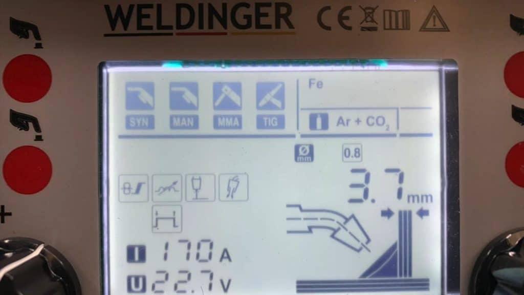 Weldinger MEW 210 SYN dig